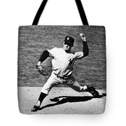 Edward Whitey Ford Tote Bag