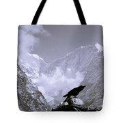 Eerie Himalayas Tote Bag
