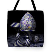Egg And Goblet Tote Bag