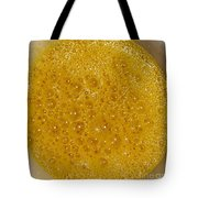 Square Format. Sunny Egg Bubbles  Tote Bag
