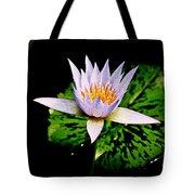 Egg Lily Tote Bag