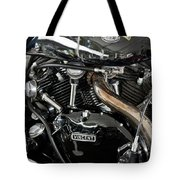 Egli-vincent Godet Motorcycle Tote Bag