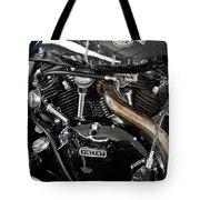 Egli-vincent Godet Motorcycle Tote Bag