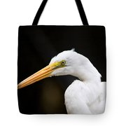 Egret - Old Whitey Tote Bag