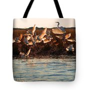 Egret And Ibis Party Tote Bag