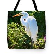 Egret Regret Tote Bag