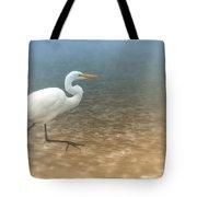 Egret Stroll Tote Bag