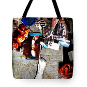 Egypt 2012 Road Travels Preparations Tote Bag