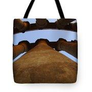 Egypt Luxor Pillars Tote Bag