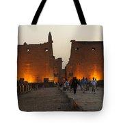 Egypt Luxor Temple Tote Bag