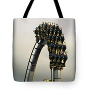 Egypt-montu Rollercoaster At Busch Tote Bag