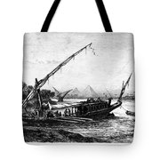Egypt: Nile Transport Tote Bag