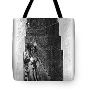 Egypt: Pyramid Interior Tote Bag