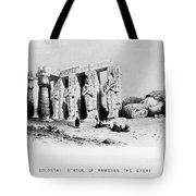 Egypt: Ramesseum Tote Bag