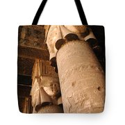 Egypt Temple Of Dendara Tote Bag