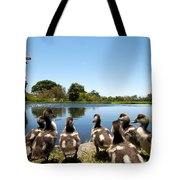 Egyptian Geese Tote Bag by Fabrizio Troiani