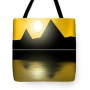 Egyptian Sunrise Tote Bag