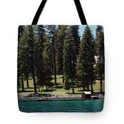 Ehrman Mansion Lake Tahoe Tote Bag