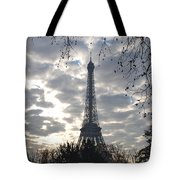 Eiffel In The Morning Tote Bag