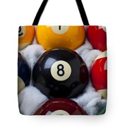 Eight Ball Tote Bag by Garry Gay