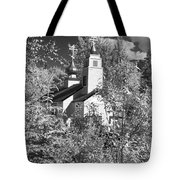 Eklutna Church Tote Bag