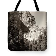 El Capitan Meets The River Tote Bag