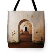 El Morro Fort Barracks Arched Doorways San Juan Puerto Rico Prints Tote Bag