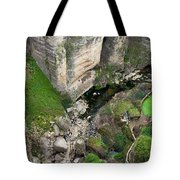 El Tayo River Gorge In Ronda Tote Bag
