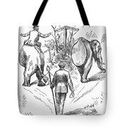 Election Cartoon, 1884 Tote Bag
