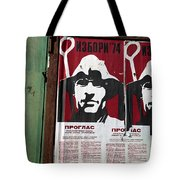 Elections 1974. Belgrade. Serbia Tote Bag