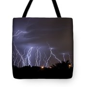 Electric Avenue Tote Bag