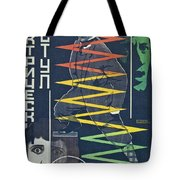 Electric Chair Tote Bag