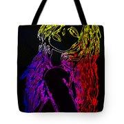 Electric Girl Tote Bag