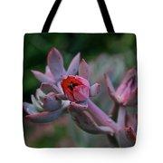 Electric Glo Blossom Tote Bag