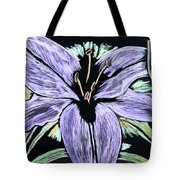 Electric Lily Phase Two Tote Bag