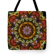 Electric Mandala 2 Tote Bag
