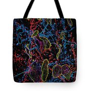 Electric Shy Girl Tote Bag