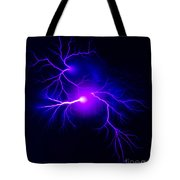 Electric Spark Tote Bag