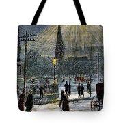 Electric Streetlight, 1881 Tote Bag