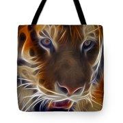 Electric Tiger Tote Bag