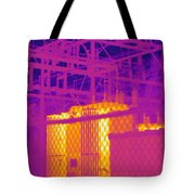 Electrical Substation Tote Bag