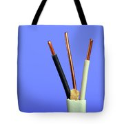 Electrical Wire Tote Bag