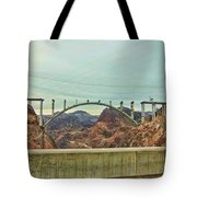 Electricity Flow Tote Bag