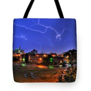 Electrifying Canvases Of Nature Tote Bag