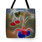 Electrifying Fuchsia Tote Bag