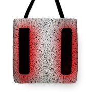 Electrostatic Field Lines Like Charges Tote Bag
