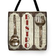Elegant Bistro 1 Tote Bag by Debbie DeWitt