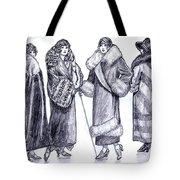 Elegant Coats Tote Bag