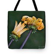 Elegant Daisies Tote Bag