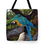 Elegant Parrot Tote Bag